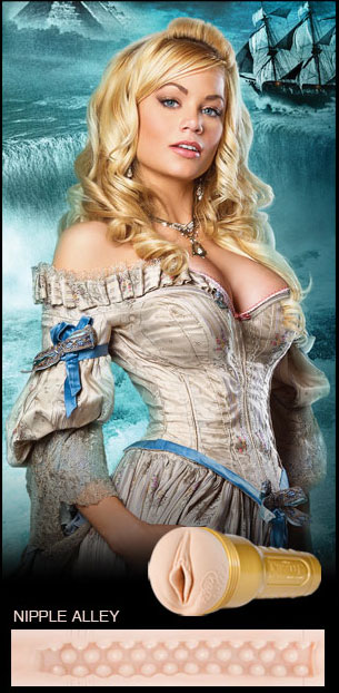 Fleshlight Girls Pirates Edition: Riley Steele - Nipple Alley Texture