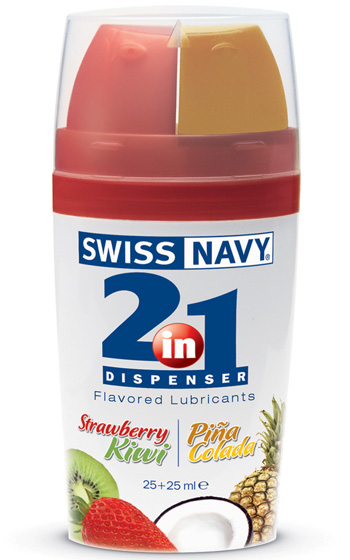2 in 1 Flavored Lube 25 Plus 25 ml
