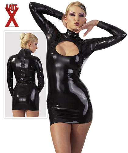 Latex Dress Peephole