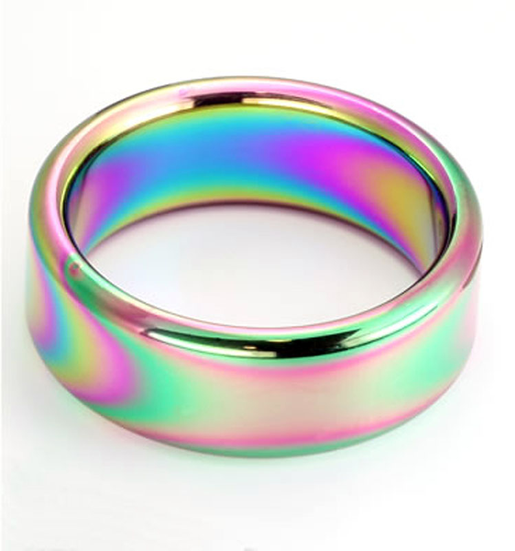 HardLine 20mm 316L Rainbow Ring 2